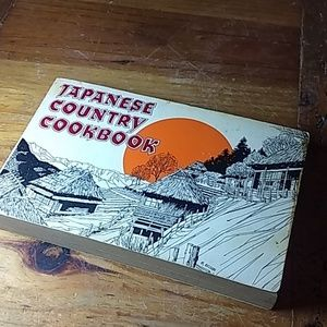 Vintage 1969 Japanese country cookbook 198 pgs.